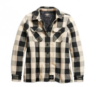 Harley-Davidson® Women's Vintage Plaid Shirt Jacket 96241-21VW