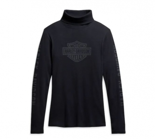 Harley-Davidson® Women's Logo Turtleneck 96233-21VW