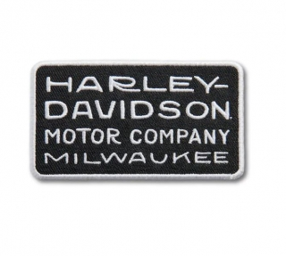 Harley-Davidson® 20's Deco Font Iron-On Patch 97670-21VX