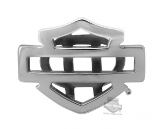 Harley-Davidson® Womens Stainless Steel Silver Tone Outline B&S Rally Charm by Mod Jewelry®