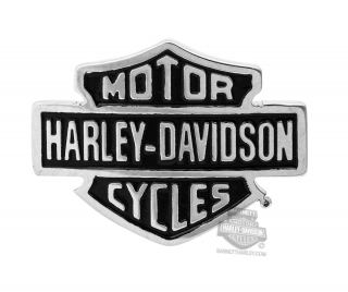 Harley-Davidson® Womens Stainless Steel Silver Tone B&S Rally Charm by Mod Jewelry®