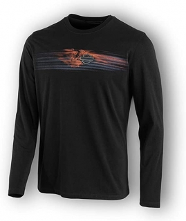 Harley-Davidson 96570-19VM Men's Engine Print Slim Fit T-Shirt 96570-19VM