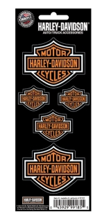 Harley-Davidson® Harley-Davidson Stick on Decal CG99185 - 12 pieces