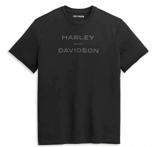 Harley-Davidson® Men's Tee Knit Black 96351-21VM