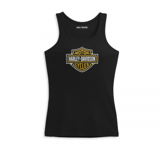 Harley-Davidson® Women's Tank Knit Black 96391-21VW