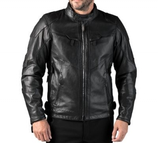 Motocyklová bunda Men's FXRG Triple Vent System Waterproof Leather Jacket 98038-19EM