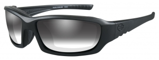 Harley-Davidson® Men's Gem Light Adjusting Sunglasses, Matte Black Frame