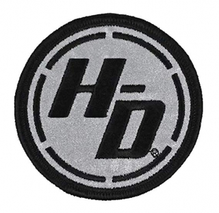 Harley-Davidson® Ignition Circle Reflective X-Small Patch